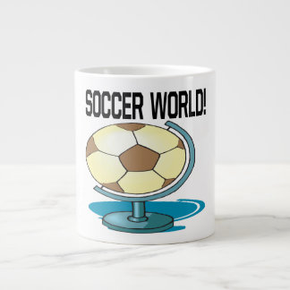 Soccer World Jumbo Mugs