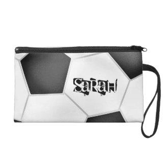 Soccer Wristlet Bag