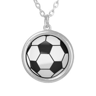 Soccerball Necklace