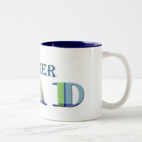SoccerDad Two-Tone Coffee Mug