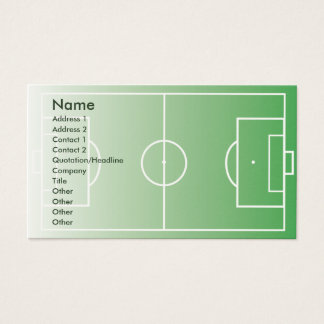 Soccerfield - Business Business Card