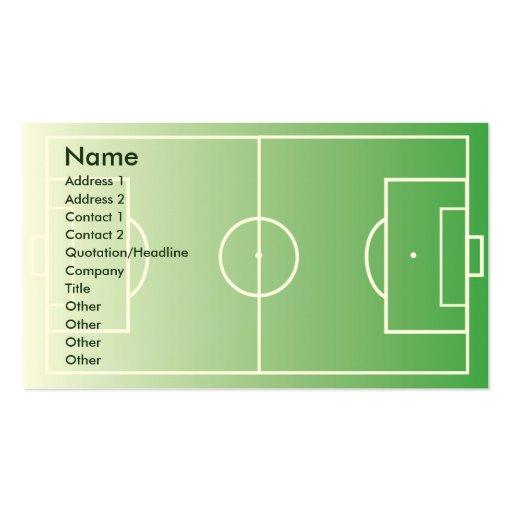 Soccerfield - Business Business Card Templates