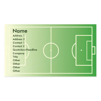 Soccerfield - Business Pack Of Standard Business Cards