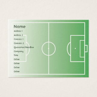 Soccerfield - Chubby Business Card