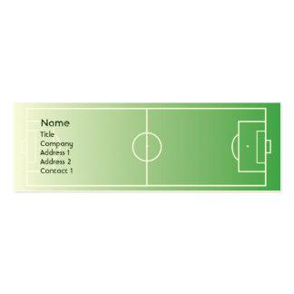 Soccerfield - Skinny Business Card Template