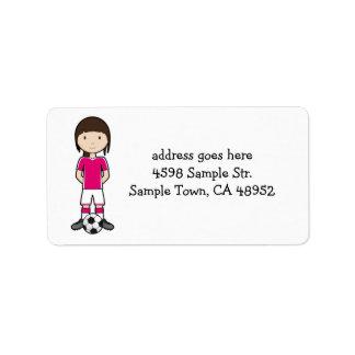 SoccerGirl Label