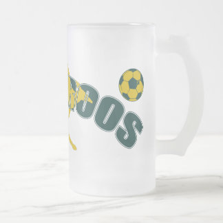 Socceroos fans Kangaroo logo and balls gifts Coffee Mug