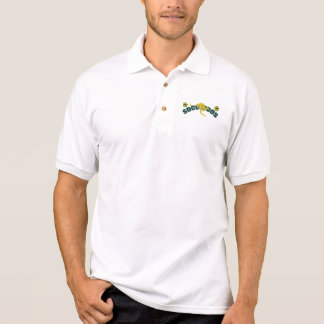 Socceroos fans Kangaroo logo and balls gifts Polo T-shirt