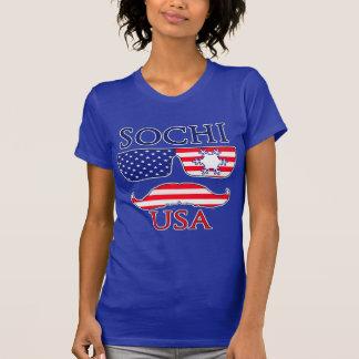 Sochi USA snowflake T-Shirt