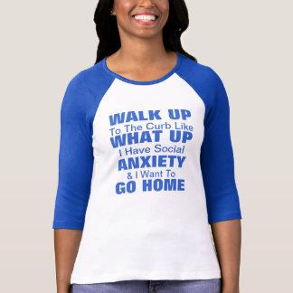 Social Anxiety T-Shirt! Customize! T Shirt