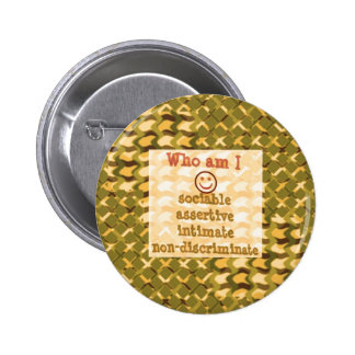 Social, ASSERTIVE Intimate - RELATIONSHIP lowprice 6 Cm Round Badge