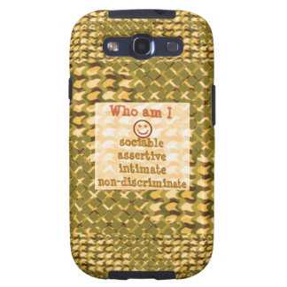 Social, ASSERTIVE Intimate - RELATIONSHIP lowprice Galaxy SIII Covers