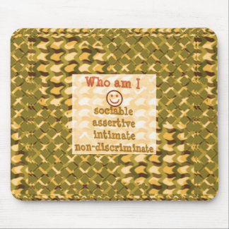 Social, ASSERTIVE Intimate - RELATIONSHIP lowprice Mousepads