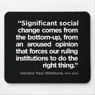 Social Change Mousepad