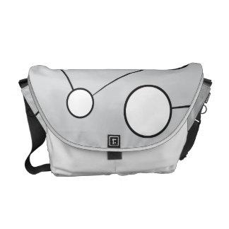 Social Circles Diagram Design Commuter Bags