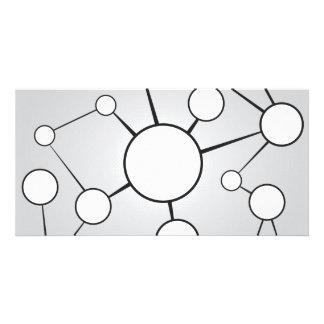 Social Circles Diagram Design Picture Card