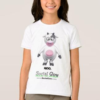 Social Cow - Cow Portrait - T-Shirt