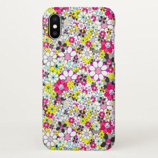 Social flowers iPhone x case