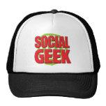 Social Geek Mesh Hats