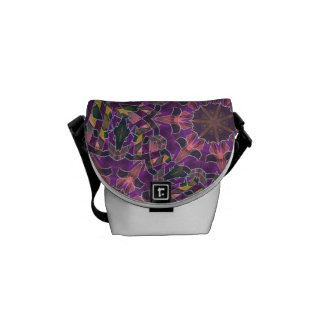 Social Glamour Courier Bag