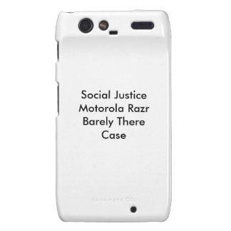 Social Justice Motorola Razr Barely There Case Droid RAZR Case