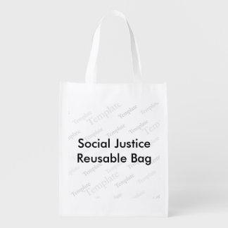 Social Justice Reusable Bag Reusable Grocery Bag