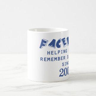 Social Media Basic White Mug