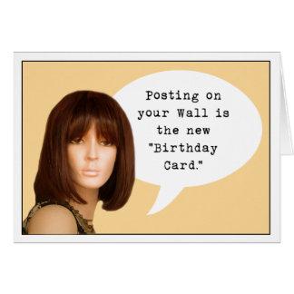Social Media Birthday Card