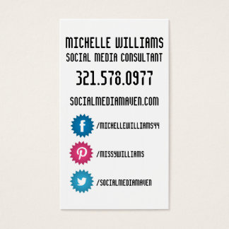 Facebook contacts gifts on zazzle uk social media business cards colourmoves Image collections