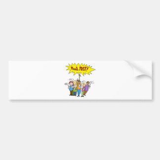 Social Media Competition Bumper Sticker