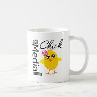 Social Media Coordinator Chick Mug