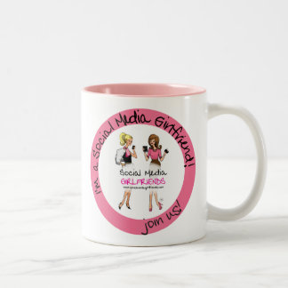 Social Media Girlfriends Latte Mug