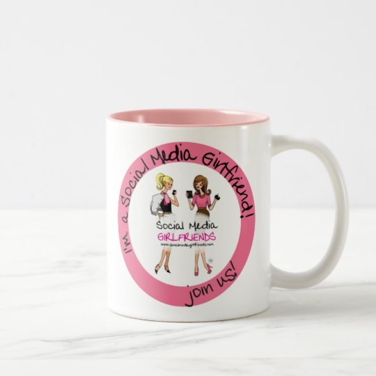 Social Media Girlfriends Latte Mug