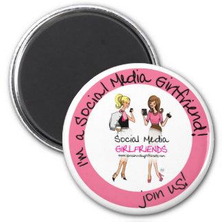 Social Media Girlfriends Magnet
