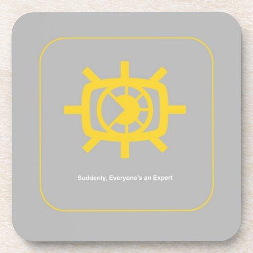 Social Media graphic Coaster