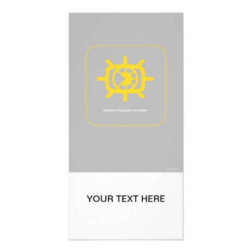 Social Media graphic Personalized Photo Card