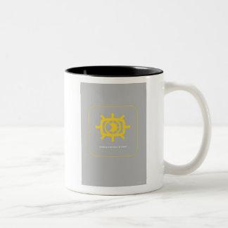 Social Media graphic Two-Tone Mug