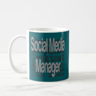 Social Media Manager Extraordinaire Coffee Mug