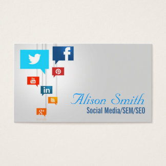 Social Media/SEM/SEO Business Card