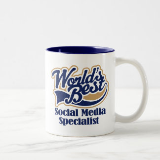 Social Media Specialist Gift Coffee Mugs