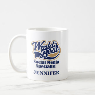 Social Media Specialist Personalized Mug Gift