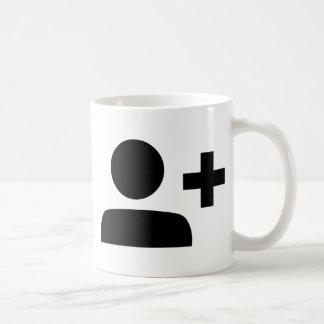 Social Media Symbol Basic White Mug
