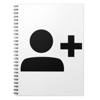 Social Media Symbol Notebook