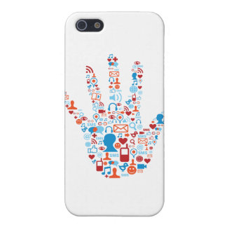 Social Network Hand Cases For iPhone 5