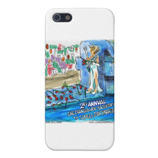 Social Network Marital Status Changed Parade Gifts iPhone 5 Cases
