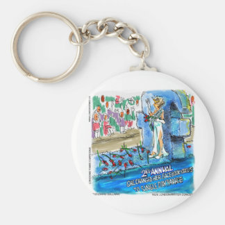 Social Network Marital Status Changed Parade Gifts Basic Round Button Key Ring