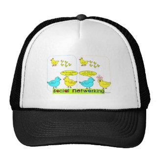 Social Networking Trucker Hats