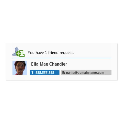 Social Networking - Profile Business Card