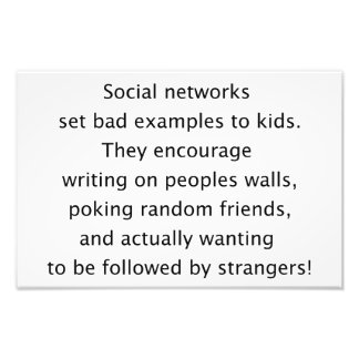Social networks funny text photo