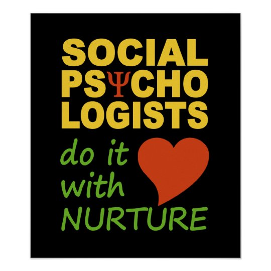 Social Psychologists poster